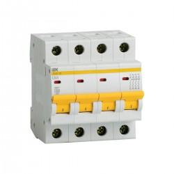 Автоматический выключатель ВА47-29 4Р 1А -63А 4,5кА х-ка В ИЭК