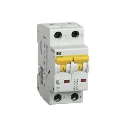 Автоматический выключатель  ВА 47-60 2Р 1А - 63А IEK