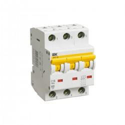 Автоматический выключатель  ВА 47-60 3Р 1А - 63А  IEK