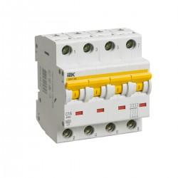 Автоматический выключатель  ВА 47-60 4Р 1А - 63А  IEK