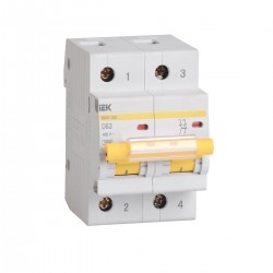 Автоматический выключатель ВА 47-100 2Р 10А -100А   ИЭК