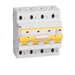 Автоматический выключатель  ВА 47-100 4Р  10А - 100А ИЭК