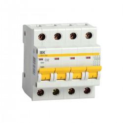 Автоматический  выключатель  ВА 47-29М 4P 1A  - 63А  ИЭК