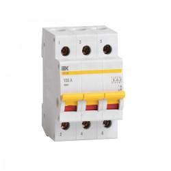 Выключатель нагрузки (мини-рубильник) ВН-32 3Р 20А - 100А   ИЭК