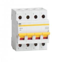 Выключатель нагрузки (мини-рубильник) ВН-32 4Р 20А - 100А   ИЭК