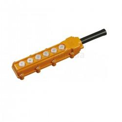 Пульт управления кнопочный тальферный ПКТ-63 на 6 кнопок ІР 54