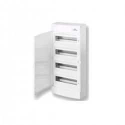 Щит наружный распределительный ЕСТ 48РО (48 модулей белая дверь) (ЕТІ)