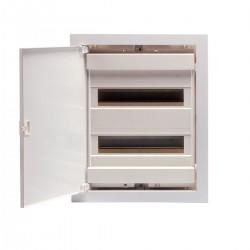 Щит внутренний распределительный ЕСМ 24РО (24 модулей белая дверь) (ETI)