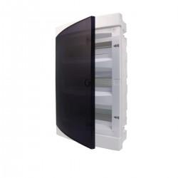 Щит внутренний распределительный ЕСМ 24РТ (24 модуля прозрачная дверь) (ETI)